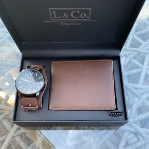 Other - L & Co. Timepiece gift set